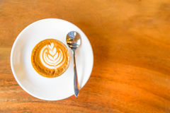 Cappuccino coffee . Royalty Free Stock Image