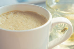 Cappuccino coffee Royalty Free Stock Images