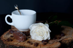 Cappuccino coffee cup Royalty Free Stock Images