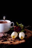 Cappuccino coffee cup Royalty Free Stock Photos