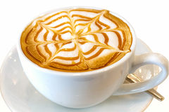 Cappuccino coffee drink Royalty Free Stock Images