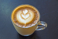 Cappuccino coffee. Mocha morning  sweet Stock Photos