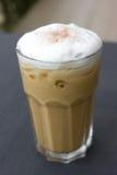 Cappuccino congelado do café com creme macio. Foto de Stock