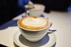 Cappuccino cremoso Immagini Stock