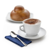 Cappuccino cup 2 Stock Images