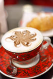 Cappuccino cup Royalty Free Stock Images