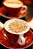 Cappuccino cup Royalty Free Stock Image
