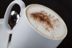 Cappuccino cup Fotos de archivo