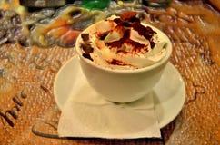 Cappuccino cup foto de archivo libre de regalías