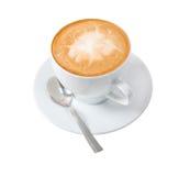 Cappuccino cup. Stock Photos