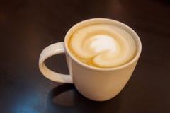 Cappuccino cup Stock Photos