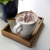 Cappuccino. Cup of Cappuccino Coffee Royalty Free Stock Photo