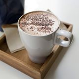 Cappuccino. Cup of Cappuccino Coffee Stock Photography