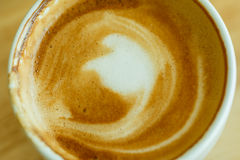 Cappuccino in cup Royalty Free Stock Photography