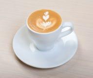 Cappuccino cup.coffee Foto de archivo