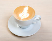 Cappuccino cup.coffee stockbild