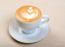 Cappuccino cup.coffee lizenzfreies stockfoto