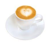Cappuccino cup.coffee stockbild