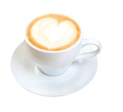 Cappuccino cup.coffee Stock Photography