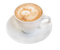 Cappuccino cup.coffee Stock Images