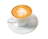 Cappuccino.Cup of coffee Stock Image