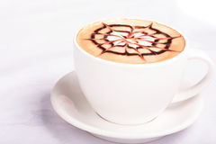 Cappuccino cup Royalty Free Stock Photos