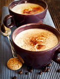 Cappuccino Cups Royalty Free Stock Photos