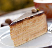 cappuccino czekoladowy hazelnut kulebiak obrazy royalty free
