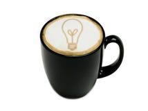 Cappuccino de la idea fotos de archivo libres de regalías