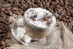 cappuccino de Latte de café image stock