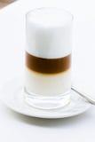 Cappuccino de mousse de lait photographie stock libre de droits