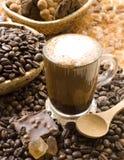 Cappuccino del café Imágenes de archivo libres de regalías