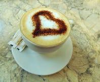 Cappuccino della tazza di caffè Fotografia Stock Libera da Diritti