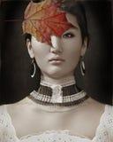 Cappuccino di autunno immagini stock libere da diritti