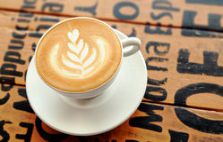 Cappuccino do café Fotografia de Stock