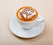 Cappuccino do chocolate foto de stock