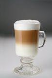 Cappuccino dos colores Foto de archivo