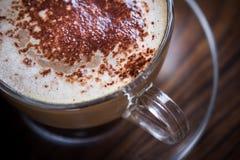 cappuccino empty Arkivbilder