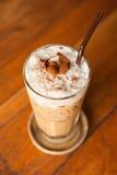Cappuccino för med is kaffe Royaltyfria Bilder