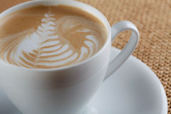 cappuccino filiżanka zdjęcie royalty free