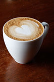 cappuccino filiżanka obrazy royalty free