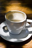 Cappuccino with Froth Stock Image