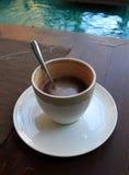 cappuccino gorący Zdjęcia Royalty Free