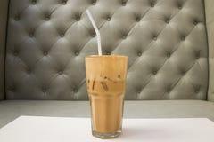 Cappuccino Iced Coffee Stock Photo