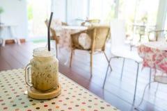 Cappuccino Iced coffee stock photos