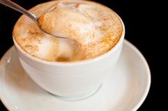Cappuccino isolated Royalty Free Stock Photo