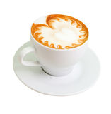 Cappuccino.  (isolated with path). Stock Images