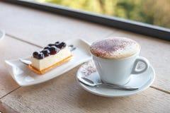 Cappuccino-Kaffee Stockfotografie