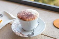 Cappuccino kawa Fotografia Stock