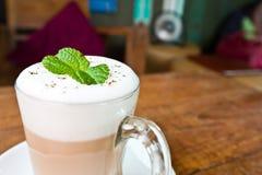 Cappuccino kawa Zdjęcie Royalty Free